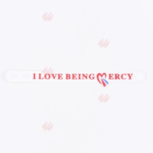 Bransoletka - I LOVE BEING MERCY