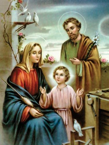 Plakat Religijny wzór 094. Św. Rodzina