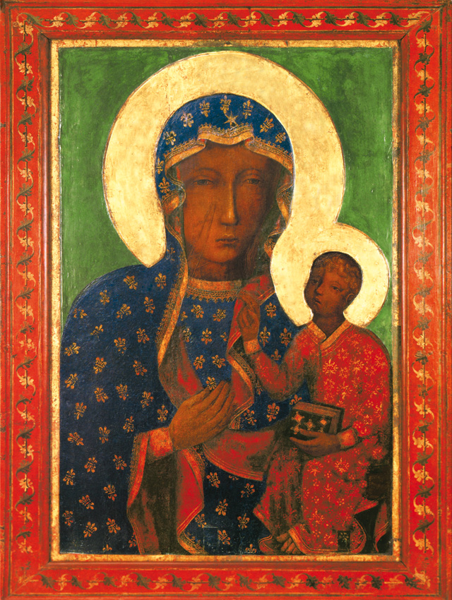 Plakat Religijny Matka Boża Częstochowska Wędrująca