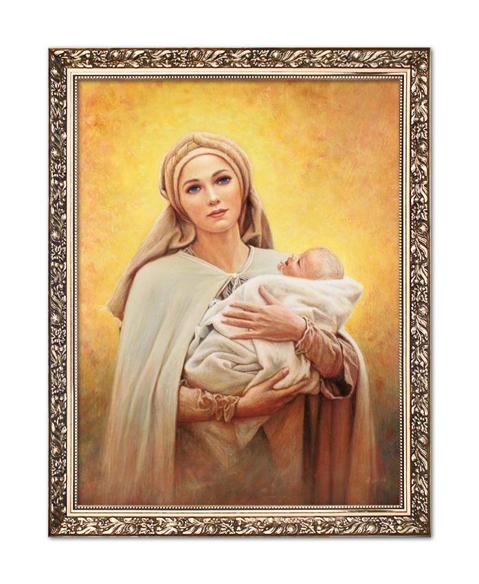 Poważne Obraz Matka Boża z Dzieciątkiem Jezus W108 NY05