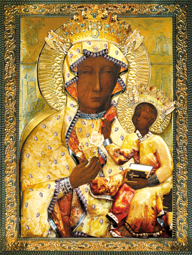 Plakat Religijny Matka Boża Częstochowska