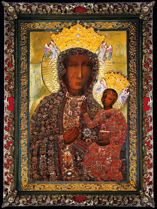 Znalezione obrazy dla zapytania matka boża częstochowska