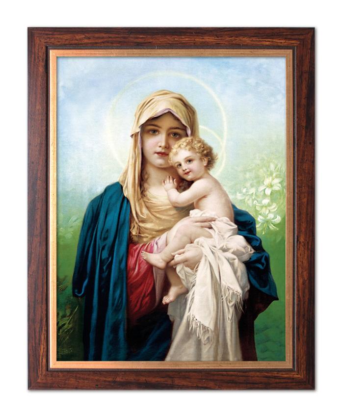 Modish Obraz Matka Boża z Dzieciątkiem Jezus W034 TU66